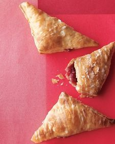Strawberry-Jam Hand Pies - I think I'd like these with some fresh fruit instead of Jam (cherries, raspberries, blackberries...)
