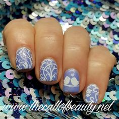The Call of Beauty: Twinsie Tuesday: Birds Manicure
