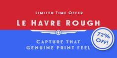 Le Havre Rough™ - Webfont & Desktop font « MyFonts