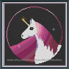 Hey, I found this really awesome Etsy listing at https://www.etsy.com/listing/204228769/space-unicorn-cross-stitch-pattern-pdf
