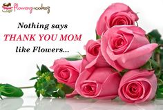 Make your Mom feel special by making things special around her.Thank her by gifting her something special with http://www.flowerzncakez.com/