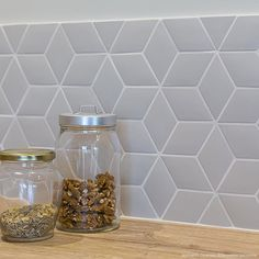 Small Diamond Tiles X Normandy Ceramics Decoration Parisienne Small Bathroom Tiles, Kitchen Tiles, Kitchen Decor, Small Tiles, Easy To Digest Foods, Low Fat Yogurt, Ceramic Decor, Evening Meals, Kitchen Remodel