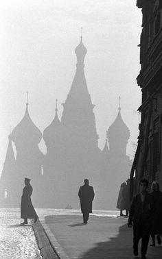 Burt Glinn. Moscow, 1961.