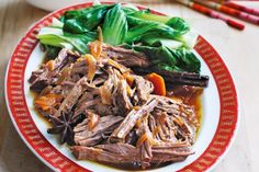 Reinvent family roast dinners with this Asian-style beef pot wonder.