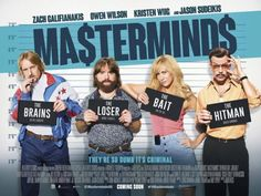 masterminds 2016 movie review- poster