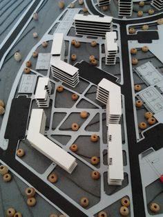 Social Housing Architecture, Masterplan Architecture, 3d Model Architecture, Open Architecture, Architecture Concept Drawings, Urban Design Concept, Urban Design Plan, Landscape And Urbanism, Landscape Architecture Design