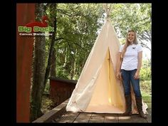 How to Make a Canvas TeePee for your big and little kids.  Let us know if you have any questions! Kids Wigwam, Kids Tents, Teepee Kids, Diy Canvas, Canvas Teepee, Baby, Teepee Tutorial, Diy Teepee, Teepee Tent