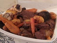 צלי כתף עם ירקות שורש ופטריות (צילום: יחסי ציבור ,יחסי ציבור)