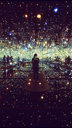 The Broad//Infinity Room. Go visit! It's worth the wait.