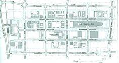 Plan of Central Milton Keynes Image Chart, Milton Keynes, Floor Plans, Urban, How To Plan, Website, History, City, Illustration