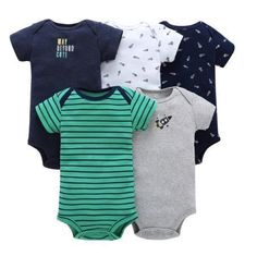 65ae332c5 Bodysuit Jumpsuit Pack Baby set kids Baby Boys and Girls Clothing set  Bodysuit set for Bebes kids 2017 news soft Cotton