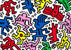 Google 画像検索結果: http://www.tokyodandy.com/wp-content/uploads/2011/06/Joyrich-x-Keith-Haring-collection.jpg