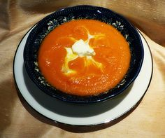 Spanish carrot soup