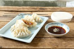 Mushroom Dumplings (Pot Stickers)