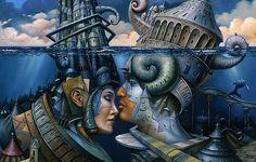 Работы художника Tomek Setowski