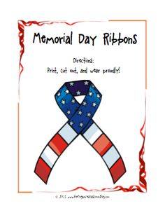 memorial day printable worksheets kindergarten