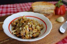 Hubová nátierka na hrianky Risotto, Grains, Rice, Ethnic Recipes, Food, Essen, Meals, Seeds, Yemek