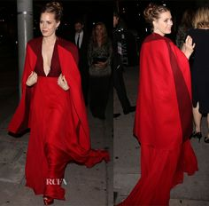 Amy Adams' Valentino Couture Shanghai Look From The Golden Globe Awards