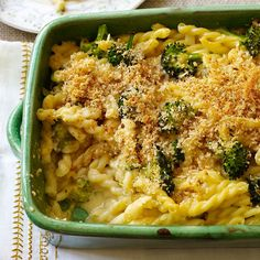 skinny mac and cheese broccoli casserole...I'm starting to wonder how many Mac n cheese recipes I've pinned... And already made :)