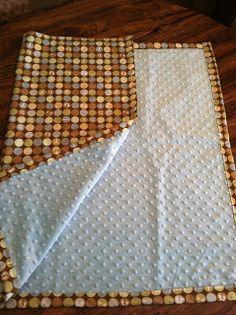 Easy DIY baby blanket #baby #DIY