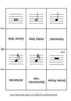 plakat notenwerte klassen 3 4 school music classroom music education und teaching music. Black Bedroom Furniture Sets. Home Design Ideas