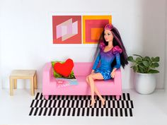 DIY Dollhouse From IKEA - iVillage think this is from Jenn Kirk. I reviewed Ikea's Huset in my blog. I see that Jenn seems to have post engineered the Klippan by removing the poorly fitting cover( good move) and Yes! eliminated the groping hands on the cushion. Excellent work http://m.today.com/home/diy-holiday-gifts-ikea-dollhouse-hack-1D80245227