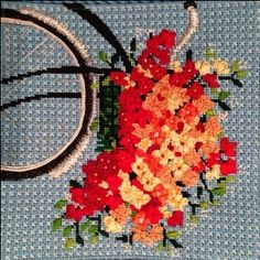 Bicycle on Blue Stitch Guide