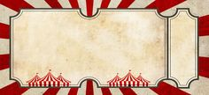 CIRCUS INVITATION CARDS INSTANT DOWNLOAD FROM ETSY