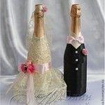 botellas decoradas para boda – decoraciones para bodas