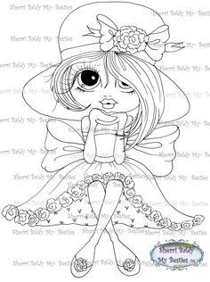 Faça o Download Digital Digi selos Olho grande Big Head Dolls Digi Img499 Blakely Ann por Sherri Baldy