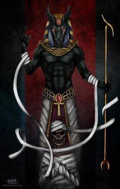 Anubis Art by Francisco Javier Cruz Domínguez (Javhier Cruz)