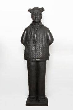Prune Nourry Terracotta Daughter #3 Huiyun, Bronze 2013 Terracotta, Buddha, Daughter, Bronze, Sculpture, Statue, Artist, Artists, Sculpting