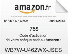 code chèque cadeau amazon md