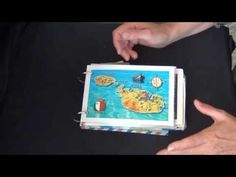 fast, easy and fun way to make a vacation mini album - YouTube