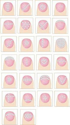 Mira los 25 diseños que hemos recopilado de uñas decoradas con Cristales Strass y encuentra el diseño que mas te guste para replicarlo en tus propias uñas.