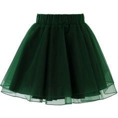 Chicwish Organza Tulle Skirt in Green (£26) ❤ liked on Polyvore featuring skirts, mini skirts, bottoms, green, faldas, green tutu skirt, layered tulle skirt, tulle tutu, tulle mini skirt and tulle tutu skirt