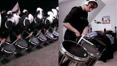 Top Secret Drum Corps - 17 Year Old Drummer Plays Alongside Edinburgh Military Tattoo, Trommler, Drumline, Military Tattoos, Year Old, Plays, Drums, Music Instruments, Videos