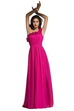 Dora Bridal Women One Shoulder Chiffon Prom Dresses Size 2 US Fuchsia Dora Bridal http://www.amazon.com/dp/B01440RK2M/ref=cm_sw_r_pi_dp_qTzlwb1G7B46C