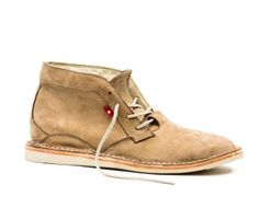 Summer, meet the Oliberte Zimbo in tan nubuck. Made in Africa. On Sale for $135.