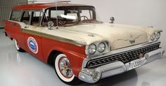 1959 Ford Country Sedan - with Patina