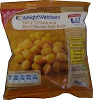 Weight Watchers Spicy Tomato and Basil Flavour Puff Balls
