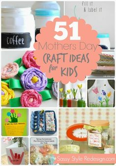 51+mothers+day+craft+ideas+for+kids.jpg 601×859 pixels