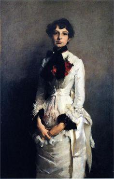 Isabel Valle, 1882 John Singer Sargent
