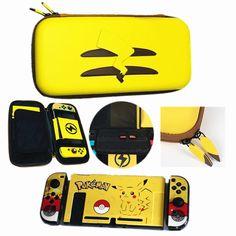 Kedvenc sárga barátunk ismét visszatért a köztudatba. Pika pika…. Nintendo Switch védőtok igazi Pokémon fanoknak. Pikachu, Pokemon, Nintendo Switch, Suitcase, Gaming, Pink, Videogames, Game, Pink Hair