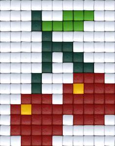 #pixelhobby #pixels #beads #kersjes