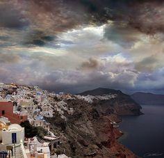 """500px / Photo """"Sky town"""" by Dmitry Zhamkov Santorini"""