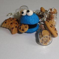 Cookie monster bracelet. $19.00, via Etsy.