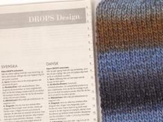How to determine the stitch sample - DROPS lessons / good start! - Little miss ribbons mittens / DROPS baby – free knitting patterns by DROPS design - Kids Knitting Patterns, Free Knitting, Drops Design, Magazine Drops, Baby Cardigan Knitting Pattern, Knitted Slippers, Crochet Diagram, Knitting For Beginners, Drops Baby