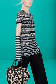 Missoni | Pre-Fall 2014 Collection | Style.com- love everything about this image.