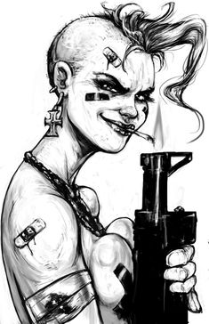 Tank Girl by suarezart on DeviantArt